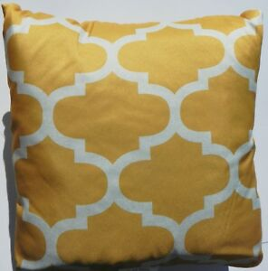Mainstay Gold Fretwork Pillow Ms14 10 13 10 Qty 2 Pillows