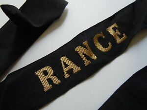 Rance Lst Indochine Marine Ruban Légendé Bande De Bachi Original France Captally 4zcm1moo-07220008-604332518