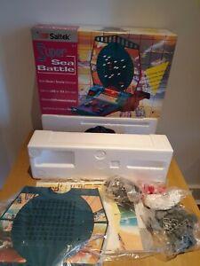 VINTAGE 1995 SAITEK SUPER SEA BATTLE BATTLESHIP ELECTRONIC GAME NEW & BOXED RARE