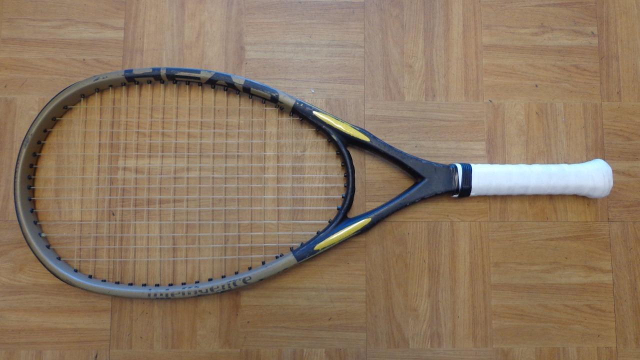 Cabeza I. S10 OverTalla Hecho En Austria 4 3 8 Grip Tenis Raqueta