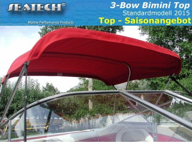 Seatech STANDARD 3 Bow Bimini Top 200-214 Modell 2015