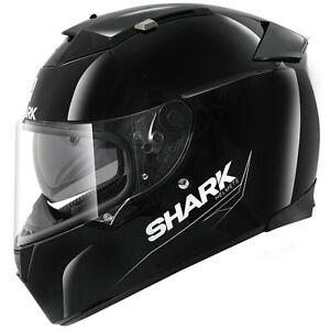SHARK-SPEED-R-GLOSS-BLACK-MOTORCYCLE-HELMET-X-LARGE