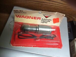 Vintage Original Wagner Accessory Cigarette Lighter Map Light Knob (new)