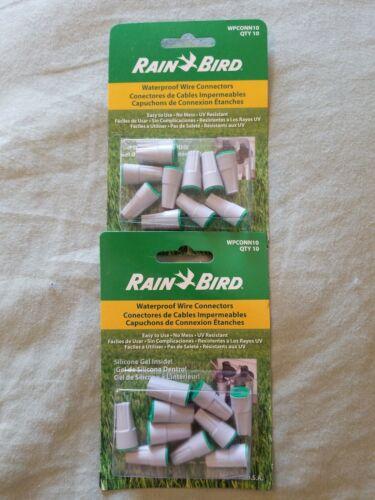 20 total Rain Bird WPCONN10 Waterproof Grease Cap Wire 2 Packs of 10