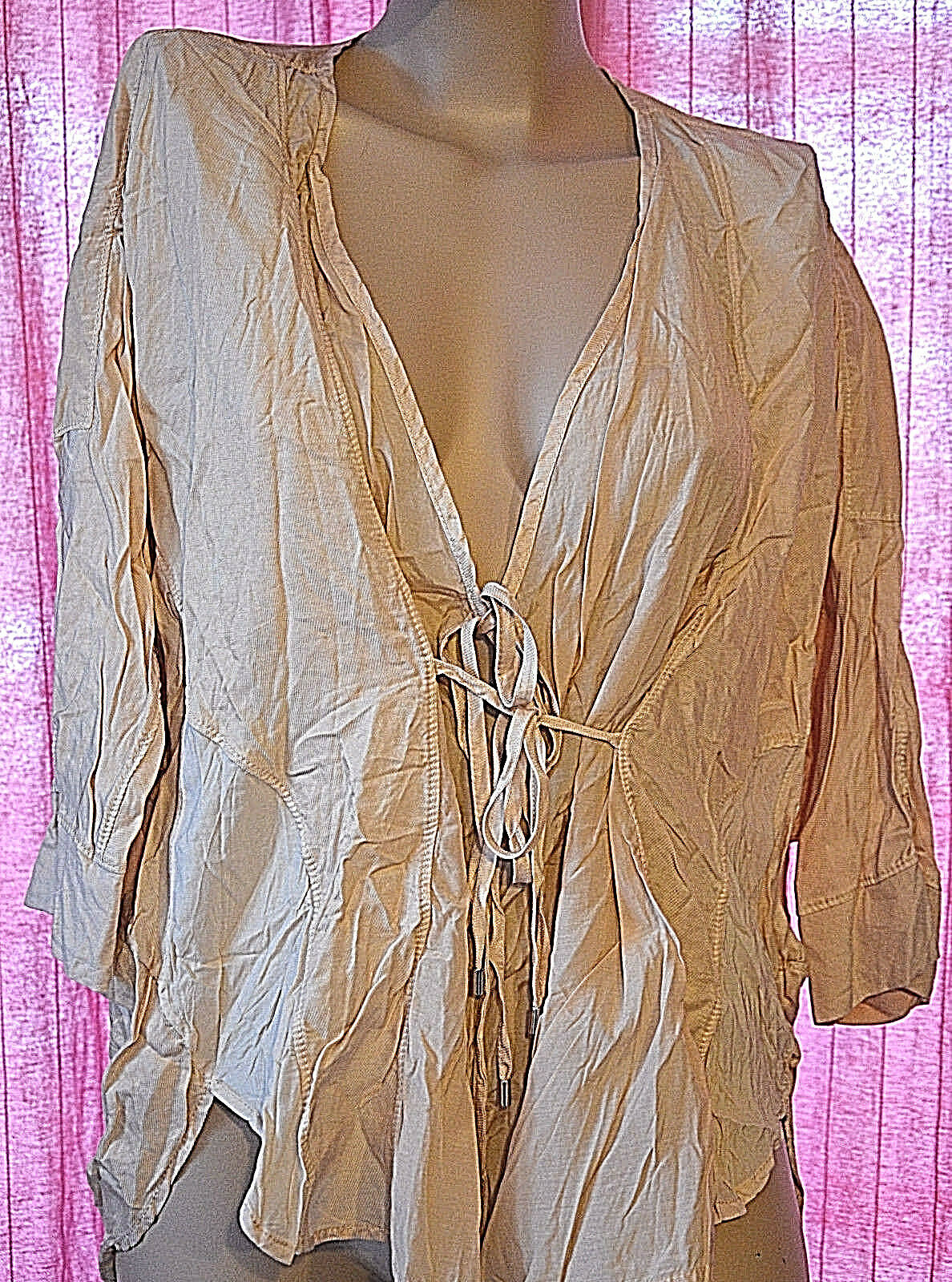 Magnificent short sleeves shirt woman HIGH USE size 40 new with tags