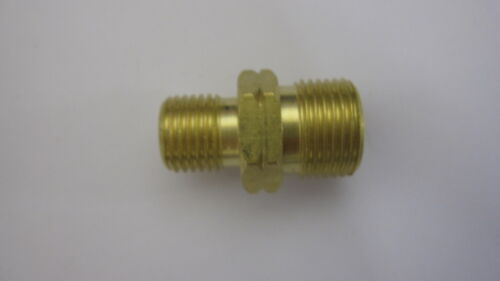 """1//4/"""" TO 3//8/"""" BSP MALE RIGHT HAND THREADED COUPLER REDUCER 1308 x 2"""