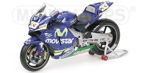 Honda RC211V Movistar M.Melandri MotoGP 2005 122051033 1 12 Minichamps