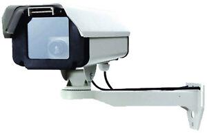 Brillant Caméra De Sécurité De Surveillance Factice-top Qualité La Construction Métallique-lumière Led-afficher Le Titre D'origine Mode Attrayante