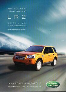 2007 Vintage Advertisement Ad A35-B finally Land Rover Range Rover LR3
