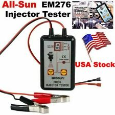All Sun Em276 Injector Tester 4 Pluse Modes Powerful Fuel System Scan Tool Usa