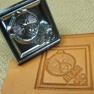 Leather-Stamping-Tool-3D-Bear-Scouts-Stamp