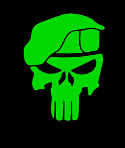 ARMY GREEN BERETS SPECIAL FORCES VINYL Decals Sticker BUY 2 GET 1 FREE U.S
