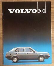 VOLVO 300 SERIES CAR BROCHURE 1983 RANGE. 340 1.4 DL GL 360 2.0 GLS GLT