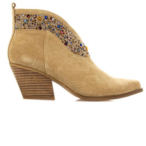 Alma En Pena Crosta Damen Damenschuhe Stiefel Stiefeletten Schuhe Beige V20016
