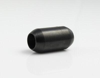 Schmuck herstellen anthrazit schwarz Ø 4 mm Edelstahl Magnetverschluss