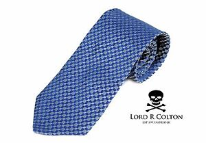 $75 Retail New Lord R Colton Masterworks Pocket Round Moscow Azul Woven Silk