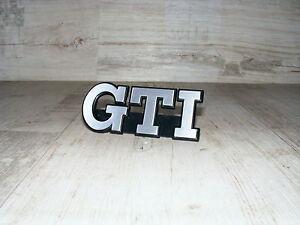 emblem schriftzug k hlergrill grill grillemblem vw golf ii. Black Bedroom Furniture Sets. Home Design Ideas
