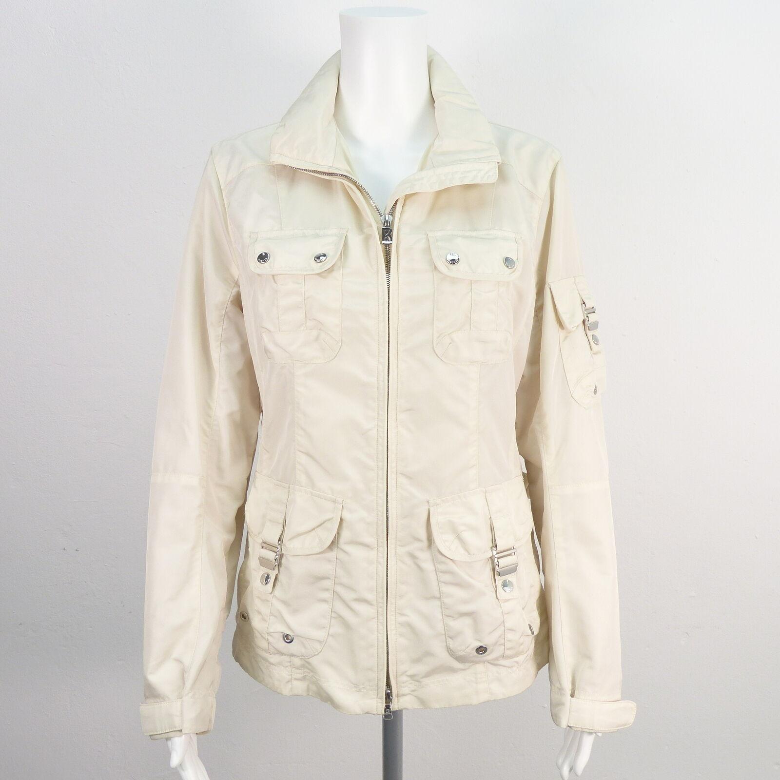 BOGNER Übergangsjacke Gr. DE 38 Cremeweiß Damen Frühlingsjacke Jacke Jacket