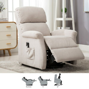 Electric-Power-Lift-Recliner-Chair-Modern-Sofa-Padded-Seat-with-RC-For-Elderly