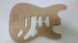 Stratocaster Guitar Body Routing Template EBay - Guitar routing templates