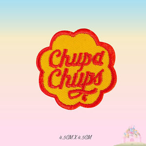 Chupa-Chups-Band-Embroidered-Iron-On-Sew-On-Patch-Badge-For-Clothes-etc