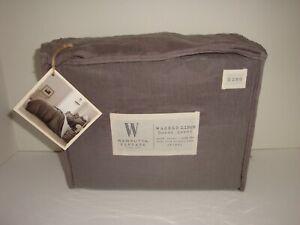 Wamsutta Vintage Washed Linen King Duvet Cover Nip