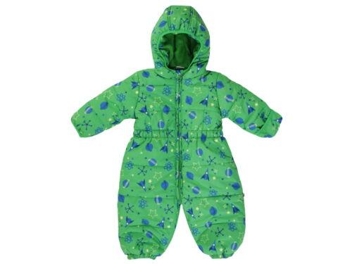 Jacky Baby Funktions-Schneeoverall Schneeanzug Junge grün Gr 80,86,92,98