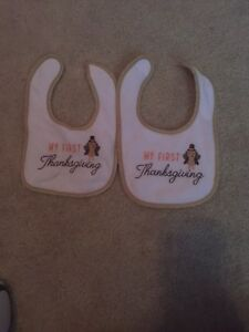 Baby's 1st Holiday Bib Thanksgiving