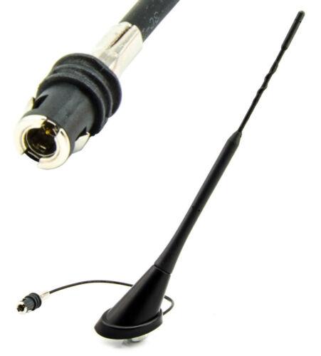 Antenne brancher Antennenfuß pour audi a3 a4 a6 Mini r50 r53 snap connecteur 24 cm