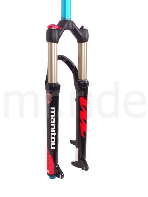 "2018 Manitou Mountain Bike fork R7 manual Disc Only 100mm 26"" Black"