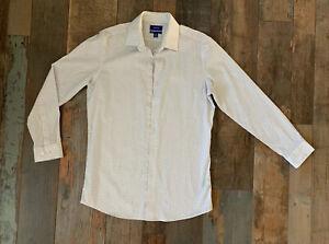 APT 9 Slim Fit Premier Flex Collar Dress Shirt Men/'s M 15-15 1//2 32//33