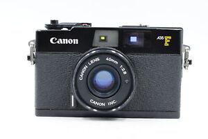 Canon-a35f-35mm-Rangefinder-Kamera-w-40mm-f2-8-Objektiv-Ersatzteile-Reparatur-306