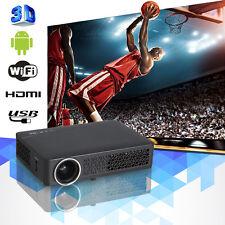 10000:1 HD 3D Wifi DLP Mini Projector LED LCD Home Cinema Theater 1080P USB RJ45
