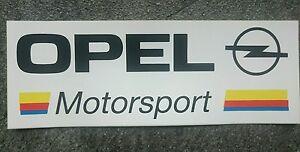 Aufkleber-Opel-Motorsport