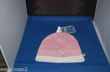 Yankees De Nueva York Blanco Rosa Chicas De Invierno Knit Beanie Hat One Size Nuevo