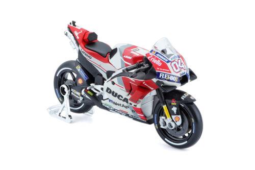 Ducati Andrea Dovizioso #4 2018 1:18 Model MAISTO