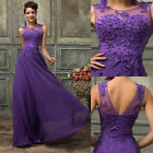 Luxury Women Party Ball Prom Gown Formal Bridal Wedding Party Evening Long Dress