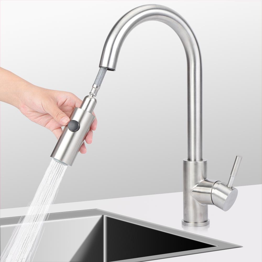 Küchenarmatur Ausziehbare Spültischarmatur Wasserhahn 360° Mischbatterie DMT Neu | Spielen Sie das Beste  | Geeignet für Farbe  | Bequeme Berührung  | Export