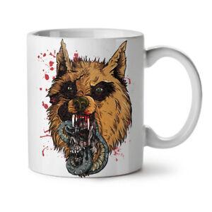 Hyena Beast Wild Animal NEW White Tea Coffee Mug 11 oz | Wellcoda