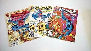 Spider-Man-2099-039-s-3-4-amp-5-Marvel-1993-UNREAD-NM-NM-Leonardi-covers