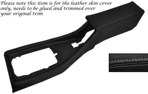 Console centrale gris stitch couvrir capot en cuir /& accoudoir Fits Triumph TR7 TR8