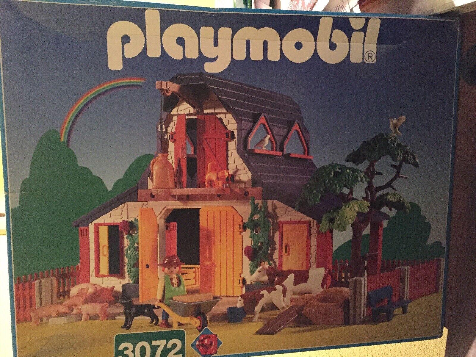 Playmobil Farm  3072 -  Retraite-Neuf dans boîte d'origine  centre commercial professionnel intégré en ligne