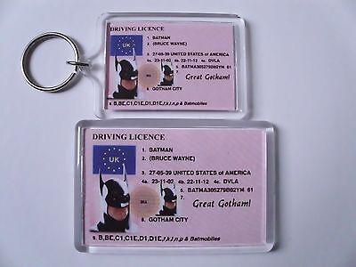 BATMAN Keyring or Fridge Magnet = ideal gift idea !!!!!!!!!!!!!