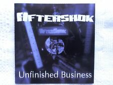 Aftershock - Unfinished Business   CD 2002  Private Pr. US Metal   Shok Paris