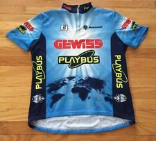 item 2 Santini Bianchi Gewiss Men s Cycling Jersey Blue Size 3XL ITA 56 Made  in Italy -Santini Bianchi Gewiss Men s Cycling Jersey Blue Size 3XL ITA 56  Made ... 979b24119