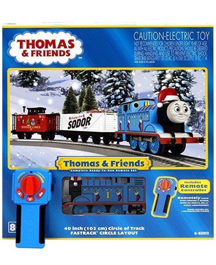 Lionel Thomas Navidad conjunto de tren de Cochega O-calibre 6-83512, nuevo en caja de la nave de tienda