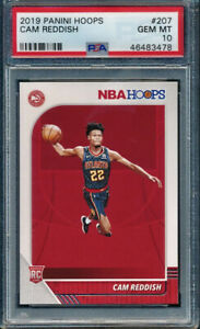 2019-20-Panini-Nba-Hoops-Cam-Reddish-Rookie-RC-PSA-10-GEM-MINT-Atlanta-Hawks