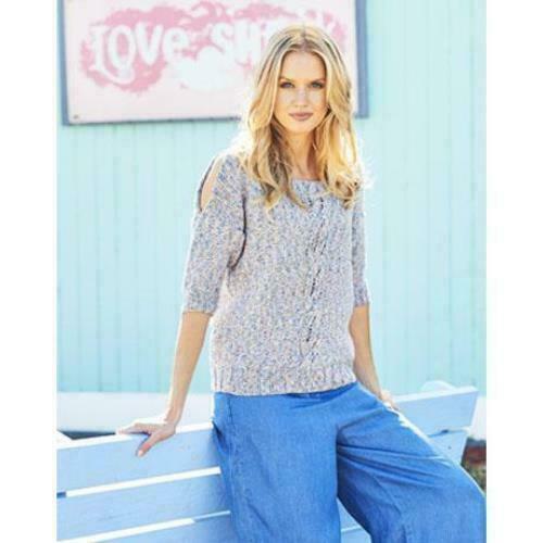 Sweater and Cardigan in Monet Stylecraft 9616 Knitting Pattern