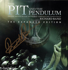 PIT AND THE PENDULUM 1991 Richard Band CD AUTOGRAPHED Signed SCORE Perseverance!