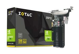ZOTAC-GeForce-GT-710-1GB-DDR3-PCIE-x-1-DVI-HDMI-VGA-Low-Profile-Graphic-Card